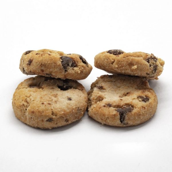 Ed & Bills – Mini Chocolate Chip Cookies – 4 Pack (160mg) Edibles